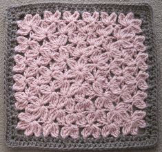 Ravelry: JulieAnny's In Treble - purchase pattern on Ravelry here: http://www.ravelry.com/patterns/library/in-treble-afghan-square