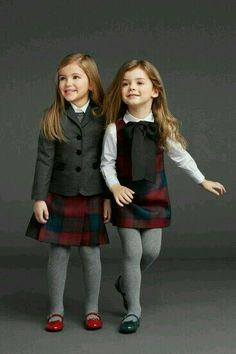 Love this. Great for Fall / Winter /back to school / uniform outfit for little or older girls fashion.   G;)
