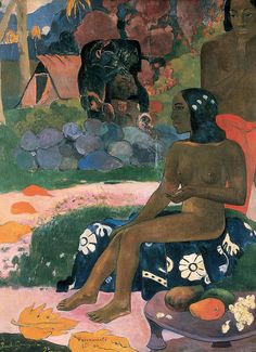 Her Name Was Vairaumati - Paul Gauguin, 1892