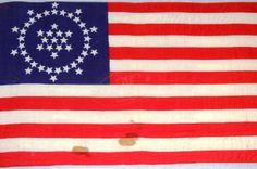 us flag circle stars