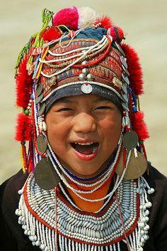 akha ethnie birmanie thailande laos