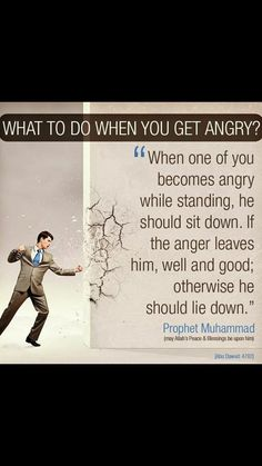 When you get angry Saw Quotes, Advice Quotes, Wisdom Quotes, Life Quotes, Quran Quotes, Hindi Quotes, Qoutes, Islam Hadith, Alhamdulillah