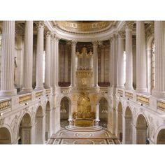 Château De Versailles ❤ liked on Polyvore featuring backgrounds, photo, marie antoinette, pictures and house