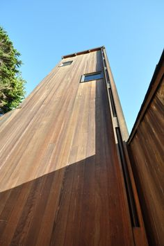 Charles W. Moore | Condominium One  - tower off parking court | Sea Ranch | California | 1965