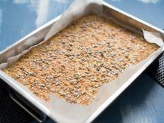 Langpannebrød med havregryn og cottage cheese - Kvardagsmat