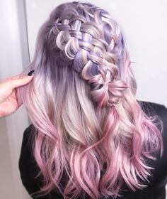 "2,042 Likes, 27 Comments - BRAIDS | UPDOS | INSPIRATION (@beyondtheponytail) on Instagram: ""PASTEL PERFECTION from @ginaatkinson @ginaatkinson today!  #beyondtheponytail"""