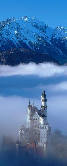 Neuschwanstein Castle, Bavaria, Germany #castles
