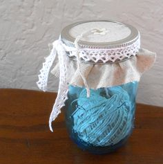 7 Easy Ways to Decorate With Mason Jars. #masonjars #eBay #DIY