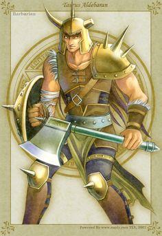 Golden Fantasy-Aldebaran by uuyly.deviantart.com on @deviantART