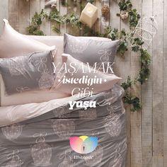 Hayallerine adım atmaktan korkma. Olmak istediğin gibi ol, yaşamak istediğin için yaşa.. #bedding #bedclothes #sleep #lifestyle