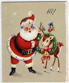 Régi karácsonyi képeslapok  // Vintage Christmas Cards