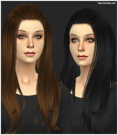 Alesso Aurora Hair Retexture | Simista A little Sims 4 Site