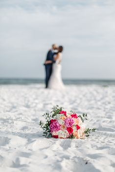 Want to see our full wedding album? Click and check! Follow us on Pinterest to see weekly updates! ❤︎ Bride and Groom | Beach Wedding | Summer Vibes | Wedding Photography Ideas | Summer Wedding Bouquet| Precious Pics Production