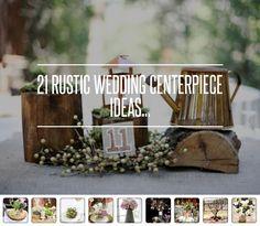 21 #Rustic #Wedding #Centerpiece Ideas... → Wedding [ more at http://wedding.allwomenstalk.com ]  #Indoor #Lantern #Basket #Flowers #Etsy