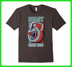 Mens Sports Gym 1999 18th Beast Workout Birthday Gift T Shirt Small Asphalt - Birthday shirts (*Amazon Partner-Link)