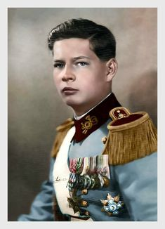 Crown Prince Michael of Romania. Historical Costume, Historical Photos, Michael I Of Romania, Romanian People, Romanian Royal Family, Transylvania Romania, Central And Eastern Europe, Kingdom Of Great Britain, Adele