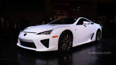 Lexus LFA white show