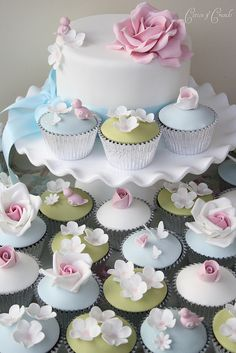 Garden cupcakes | Flickr - Photo Sharing!