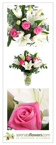 """Secret Garden"" flower bouquet #roses #lilies #flowers"