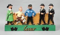 Bandes dessinées « L'univers du créateur de Tintin » - Vente N° 1874…