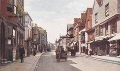 Lewes  High Street  c.1912-14