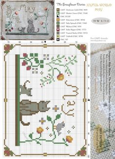My dear stitchers,    How are you doing? I spend most of my free time in the garden. I had been to Italy last month on a needlework sh...