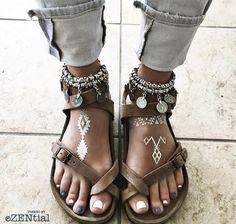 sandalias - couro <3, estilo em geral