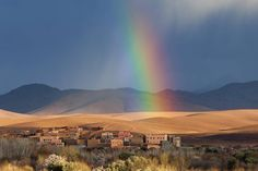 Aarre löytyy sateenkaaren päästä. Atlasvuorten juurella sijaitsee kaunis #Agadir.  #Marokko #Morocco #Aurinkomatkat