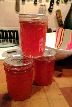 Canning is Cool Again: Peach Jalapeno Bourbon Jam | Life on the Food Chain