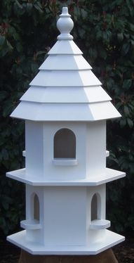 Dovecote Palace - Bird's the Word Bird House Plans, Cottage Floor Plans, Bird House Kits, Large Bird Houses, Bird House Feeder, Bird Feeders, Dove House, Bird Tables, European Garden
