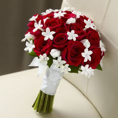 Our Love and Purity Bouquet is a charming wedding arrangement for everyone to cherish.