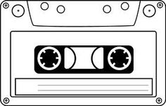 cassette-audio-tape-hi. 80s Birthday Parties, 40th Birthday, 80s Party Decorations, 80s Theme, Party Planning, Party Time, Free Printables, Invitation, Banner