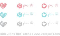 Creative Mindly: Botones pin it para descargar gratis