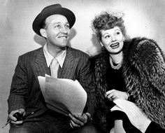 Bing Crosby and Lucille Ball.