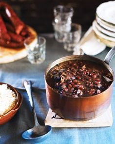 Red Beans and Rice from chef John Besh.
