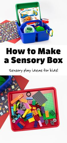 Learn how an individualized Sensory Box can help your child fulfill their sensory needs throughout their school day. #sensorybox #ideas #forkids #diy via @firefliesandmudpies Sensory Boxes, Sensory Play, Learning Resources, Fun Learning, Discovery Bottles, Busy Boxes, How To Make Box, Social Emotional Learning, Fireflies