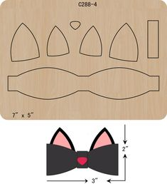 Details about new bow wooden die scrapbooking c 288 4 cutting diesThe thickness is and is compatible with most leading machines. Making Hair Bows, Diy Hair Bows, Diy Bow, Felt Bows, Ribbon Bows, Bow Template, Hair Bow Tutorial, Bow Pattern, Diy Hair Accessories
