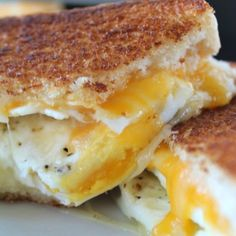 Fried Egg Grilled Cheese Sandwich - Great Grub, Delicious Treats