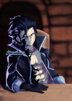 Fairy Tail 424 this is so sad why did you have to be taken over by darkness why? why gray?