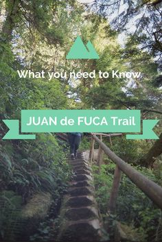 The Juan de Fuca Marine Trail lies south of the Famous West Coast Trail on Vanco. - The Juan de Fuca Marine Trail lies south of the Famous West Coast Trail on Vancouver Island, on Can - Colorado Hiking, Go Hiking, Hiking Trails, Backpacking Trails, Hiking Gear, Vancouver Travel, Vancouver Island, West Coast Trail, North Cascades