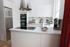 Small G-shaped kitchen modern kitchen designs