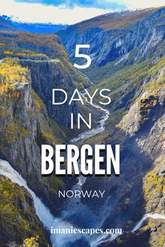 Discover the breathtaking Norwegian landscape in Bergen, from UNESCO world heritage sites and mountains on the city's doorstep to day-trips to see fjords and waterfalls. Norway Travel Guide, Europe Travel Guide, Travel Guides, Norway Roadtrip, Italy Travel, Top Travel Destinations, Places To Travel, Travel Stuff, Lofoten