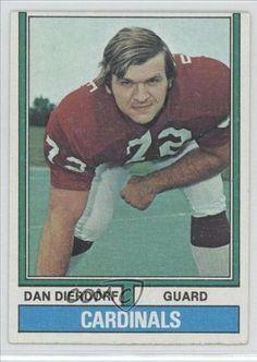 Dan Dierdorf St. Louis Cardinals FB (Football Card) 1974 Topps #32 by Topps. $2.00. 1974 Topps #32 - Dan Dierdorf