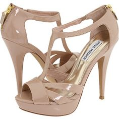 nude t-strap heels - I'm emailing these to my mother immediately for my birthday list.