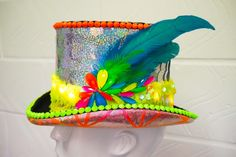 Shop Our Top Hats with LED Lights, Burning Man Hats and Headdresses, Festival Hats and Crazy Hat Day, Crazy Hats, Old Lady Costume, Homecoming Spirit Week, Mad Hatter Costumes, Mad Tea Parties, Party Queen, Heart Party, Wonderland Party