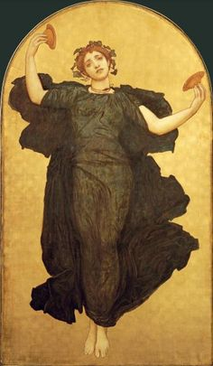 Lord Frederick Leighton - The Dance of The Cymbalists - art prints and posters
