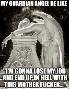 Guardian Angel. .Funny