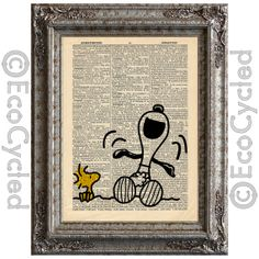 Hey, I found this really awesome Etsy listing at https://www.etsy.com/listing/123604858/snoopy-laughing-and-woodstock-on-vintage
