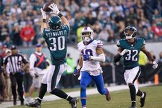 Safety Ed Reynolds scores his first career INT sealing the Philadellphia Eagles 23-20 win over the Bills