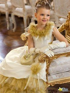 Perlitta PSA011202 праздничное платье для девочки